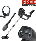Bounty Hunter Metal Detector with Pinpointer Gold Professional Sensor LCD