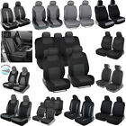 Car Seat Covers for Sedan Suv Van Truck - Poly Leather Neoprene Protection Cover $29.5 USD on eBay