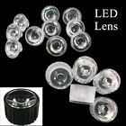 LED Lens 15/30/60/90/120 Degree 20mm for 1w 3w High Power LED Waterproof