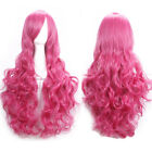 Sexy 80cm Long Curly Wigs Fashion Cosplay Costume Hair Anime Full Wavy Party Wig
