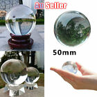 50mm Crystal Ball Clear Glass  Props For Photography Home Decoration Sphere
