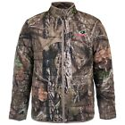 MOSSY OAK MEN'S INSULATED CAMO JACKET BREAKUP or MOUNTAIN COUNTRY ZIP FRONT