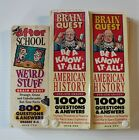 Brain Quest Know It All Grades 4-6 American History Deck 1&2 Plus Weird Stuff