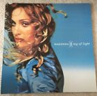 MADONNA RAY OF LIGHT UK 1998 OFFICIAL RECORD SHOP PROMO POSTER 12 INCH FLAT