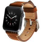 Genuine Leather iWatch Band Men Casual Strap For Apple Watch5 3 2 1 38/42mm/44mm image