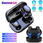 Wireless Bluetooth Headphones Headset Earphones In-Ear Sweatproof Earbuds Sports