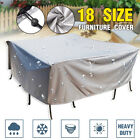 Waterproof Outdoor Patio Furniture Cover Garden Uv Table Chair Shelter Protector
