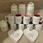 Kyпить RAE DUNN Valentine's Day XOXO BAE BE MINE Heart Decoration Mug Plates Canister на еВаy.соm