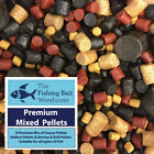 Premium Mixed Pellets, 1kg, 2kg, 5kg, 20kg, Carp Fishing Pellets, Tench, Halibut