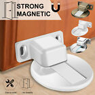 Magnetic Invisible Door Stop Floor Mount 3M Adhesive Catch Door Stopper Security
