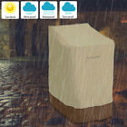 Waterproof High Back Chair Cover Outdoor Patio Garden Furniture Protection New