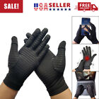 1 Pair of Copper Compression Full Finger Arthritis Gloves Support for Hands