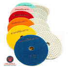 Внешний вид - 4 inch Diamond Polishing Pads Wet/Dry Granite Marble Stone Quartz Concrete