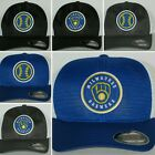 "Milwaukee Brewers Mesh ""Flex Fit"" Cap ⚾Hat ⚾CLASSIC MLB PATCH/LOGO ⚾2 Sizes ⚾New on Ebay"