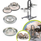 Trixie Stainless Steel Dog Bowl Food Water Dish Puppy Pet Feeding Station
