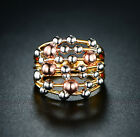 Sevil Seven-Row 3T Gold Plated Statement Ball Ring $9.99 USD on eBay