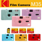 Kodak Vintage retro M35 35mm Reusable Film Camera + Kodak Color Plus 200 Film
