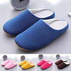 Women Men Couple Slippers Autumn Winter Warm Slip On Home Indoor House Shoes