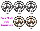 Roman Numeral Wall Clock, Decorative 3D, Wooden, Beautiful for Any Room, Quality