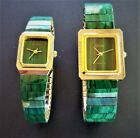 Kyпить Natural Stone Watches, Malachite, Lapis, Turquois, Mother of Pearl, Black Onyx на еВаy.соm
