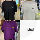 BTS BT21 Official Authentic Goods Space Squad Short Sleeve T-Shirts 3Color Type