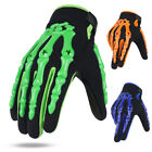 Motocross Gloves Motorcycle BMX MX ATV Dirt Bike Bicycle Skeleton Cycling Gloves