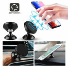Universal Magnetic Car Mount Phone Holder Dashboard w/Mounting Plate For iPhone