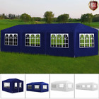 3x4/6/9m Outdoor Party Tent Heavy Duty Gazebo Marquee Wedding Canopy Awning CHIC