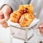 Stainless Steel French Fries Basket Stand Frying Chip Onion Rings Serving Mini günstig