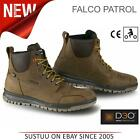 Falco Patrol Motorcycle/Bike Men's Waterproof Leather Boots│Dark Brown│All Sizes