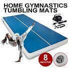 Air Track Inflatable Airtrack Tumbling Gymnastics Mat 23/26/33/36/39FT Yoga Home image