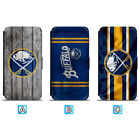 Buffalo Sabres Leather Case For iPhone X Xs Max Xr 7 8 Plus Galaxy S9 S8 $8.99 USD on eBay