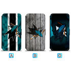 San Jose Sharks Leather Case For iPhone X Xs Max Xr 7 8 Plus Galaxy S9 S8 $8.99 USD on eBay