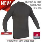 Rukka Outlast Thermo Regulating Motorcycle Base Layer Shirt│Black│All Sizes