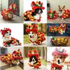 New Halloween Funny Dog Clothes New Year's Pet Chinese Costume Dragon Dance Lion