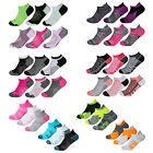 6 3 Pairs Ladies Womens Cushioned Heel Toe Trainer Socks Sports Gym Yoga Liner