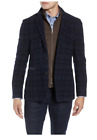 NWT Kroon Richards Classic Fit Plaid Wool Blend Sports Coat w/ Removable Liner