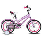 JOYSTAR Kids Bike Cruiser Bike for Girls 12 14 16 Inch with Training Wheels