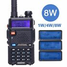 Kyпить Baofeng UV-5R 8W Tri-power 8W/4W/1W Dual Band V/UHF Two Way Radio Walkie Talkie на еВаy.соm