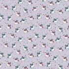 Glow In The Sun Soft Shell Waterproof Breathable Fabric Material - UNICORN LILAC