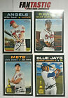 2020 Topps Heritage High Number Short Print YOU PICK 401-500 SP Trout Vlad Acuna