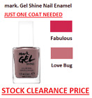 Avon mark. Gel Shine Nail Enamel Choose Shade - Only 1 COAT Needed-  FASTPOST