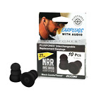 Plugfones Replacement Plugs for Plugfones Earplug Headphones Foam or Silicone