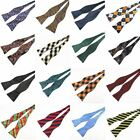 1 Pc Unisex Adjustable Bowties Self Bow Ties Jacquard Classic Wedding Party Bows