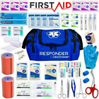 FIRST AID KIT FULLY STOCKED - FAMILY TRAUMA KIT RESPONDER BAG - TACTICAL IFAK
