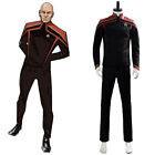 Star Trek Unfirt Jean-Luc Picard Outfit Cosplay Costume Uniform Jacket Pants on eBay