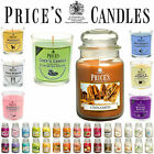 CANDELA PROFUMATA PRICE'S 630GR 110/150H AMBIENTE +AROMA IN STILE YANKEE CANDLE