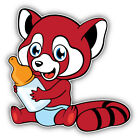 Funny Red Panda Baby Car Bumper Sticker Decal  -  ''SIZES''