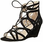 Kenneth Cole New York Womens Dylan Suede Open Toe Casual Strappy Sandals