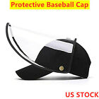 Kyпить Anti Saliva Baseball Hat Clear Splash Full Face Shield Protection US SHIP на еВаy.соm